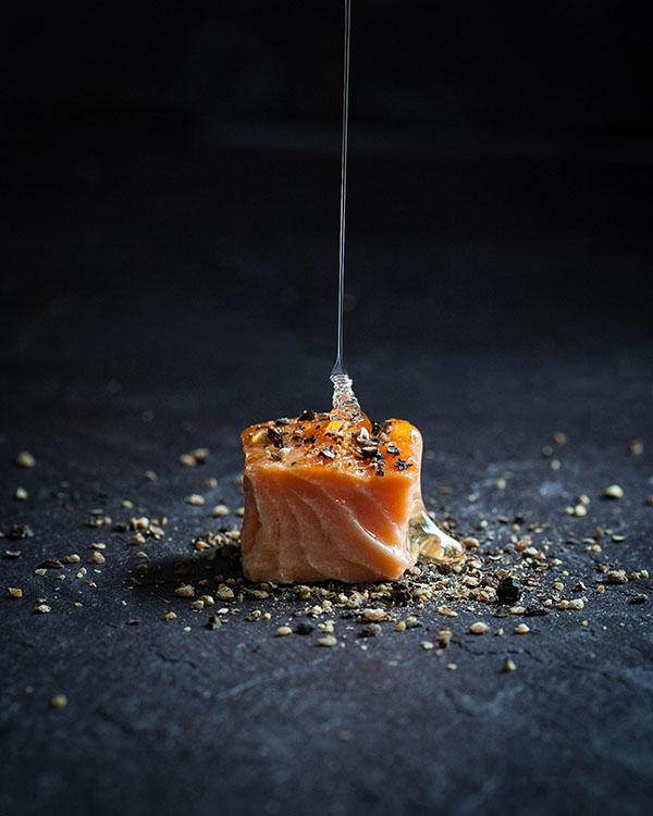 Anita murphy for Honey smoked fish